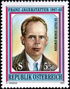 Franz Jägerstätter Briefmarke 1993